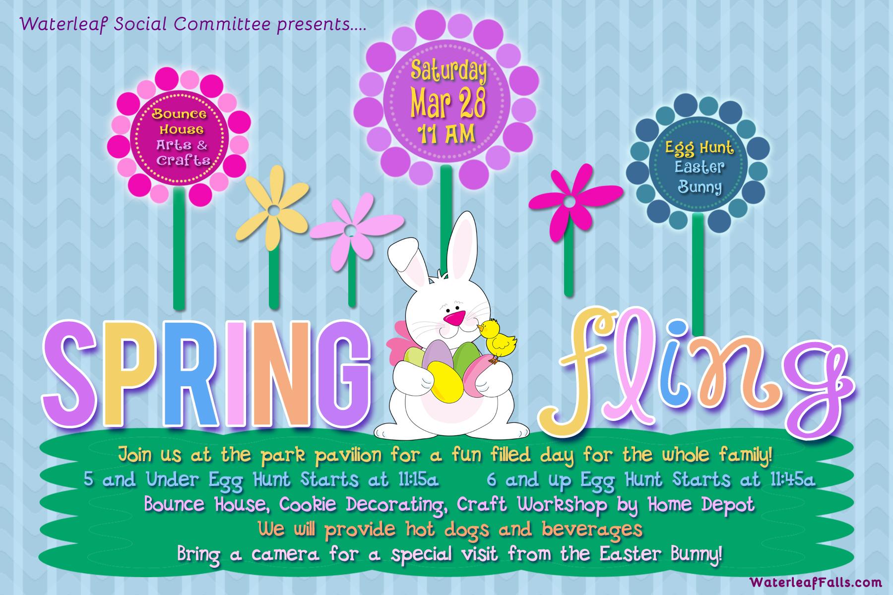 Spring Social Event Flyers Timiznceptzmusic