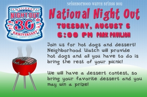 Join us for National Night Out!