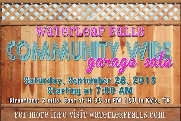 WLF Garage Sale