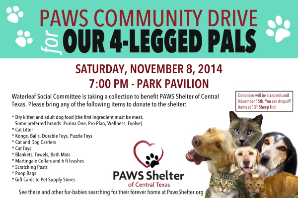 PAWS Drive